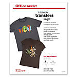 Office Depot Brand Dark Fabric Inkjet