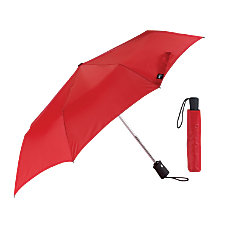 Lewis N Clark Polyester Umbrella Red