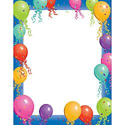 "Gartner Studios® Design Paper, 8 1/2"" x 11"", Balloon ..."