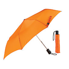 Lewis N Clark Polyester Umbrella Orange