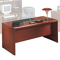 Sauder Cornerstone Executive Double Pedestal Desk 29 12 H