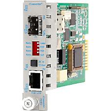 iConverter T1E1 Media Converter RJ48 SFP