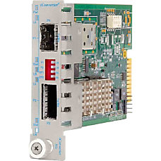 iConverter 10 Gigabit Ethernet Fiber Media