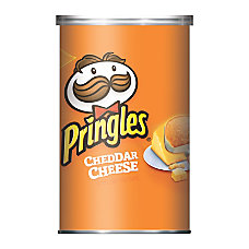 Pringles Cheddar Cheese Potato Chips 25