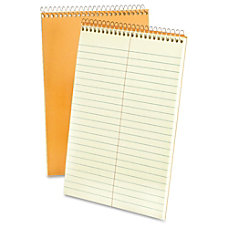 Ampad Greentint Steno Notebook 80 Sheets