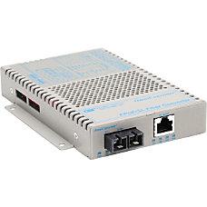 OmniConverter SL 10100 PoE Ethernet Fiber