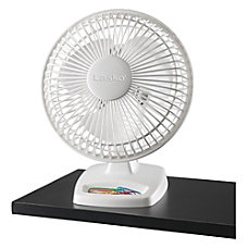 Freestanding Desk Fan White