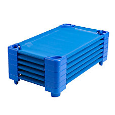 ECR4Kids Stackable Cots Standard Assembled 5