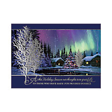 Personalized Holiday Cards With Envelopes Natures