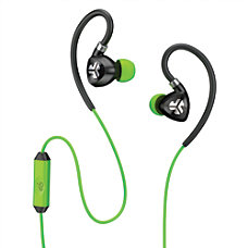 JLab Fit 20 Sport Earbuds Green