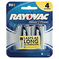 Rayovac Alkaline 9 Volt Battery 9V