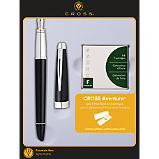 Cross Aventura Fountain Pen Medium Point