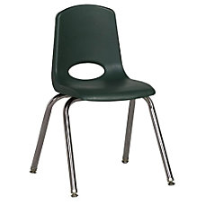 ECR4Kids School Stack Chairs 16 Seat