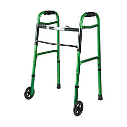 DMI Adjustable Aluminum Folding Walkers With