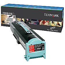 Lexmark X860H21G High Yield Black Toner