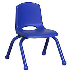 ECR4Kids School Stack Chairs 10 Seat
