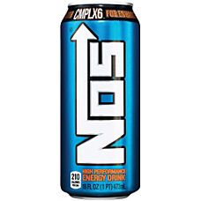 NOS Energy Drinks 16 Oz Original