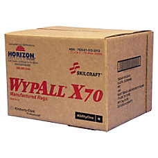 Wypall X70 Industrial Wipes 11 x