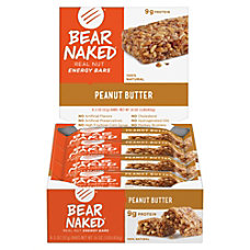Keebler Bear Naked Energy Bars Peanut