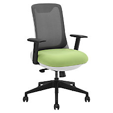 Lorell Mesh Mid Back Multifunction Chair