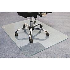 Cleartex Glaciermat Glass Chair Mat Hard
