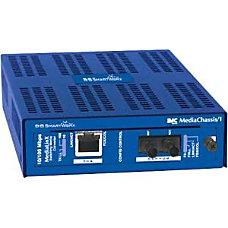 MediaChassis1 AC 1 slot BB SmartWorx