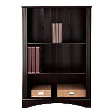 Realspace Dawson 3 Shelf Bookcase Cinnamon