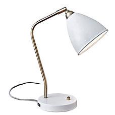 Adesso Chelsea Desk Lamp 21 H