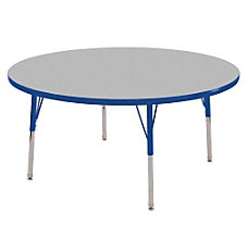 ECR4KIDS Adjustable Round Activity Table Standard