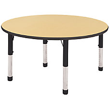 ECR4KIDS Adjustable Round Activity Table Chunky