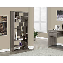 Monarch Specialties 14 Shelf Bookcase Dark