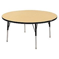 ECR4KIDS Adjustable Round Activity Table Standard