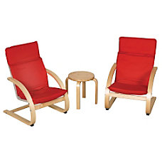 ECR4Kids Table Chair Set Red