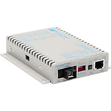 iConverter T1E1 Single Fiber Media Converter