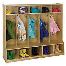 ECR4Kids Coat Locker Bench 48 H