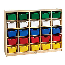 ECR4Kids Storage Organization Shelving Unit 25