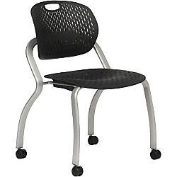 Bretford EXPLORE Chair Armless With Casters By Office Depot OfficeMax