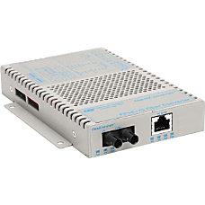 OmniConverter 10100 PoE Ethernet Fiber Media