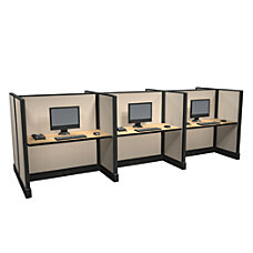 Cube Solutions Mid Height Call Center