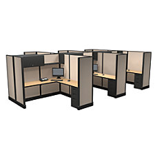 Cube Solutions Full Height L Shaped