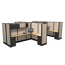 Cube Solutions Full Height Office Cubicle