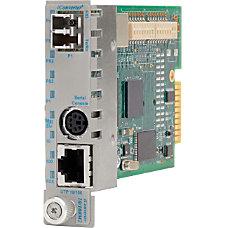 Omnitron Systems iConverter Intelligent Media Converter