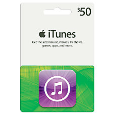 iTunes 50 Gift Card iTunes Icon