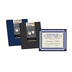 Southworth Certificate Holders Navy Blue Pack