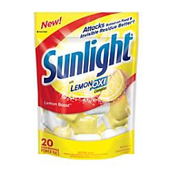 Sunlight Auto Dish Powder Lemon Boost