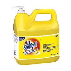 Sunlight Liquid Dishwashing Detergent Lemon 6