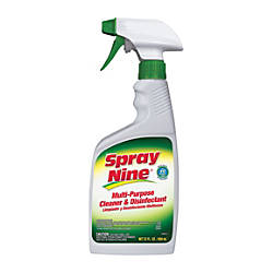 Spray Nine CleanerDisinfectant 22 oz 12Case