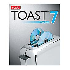 Roxio Toast 7 Titanium For Mac