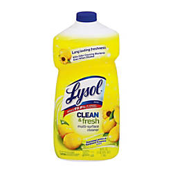 Lysol All Purpose Cleaner Sparkling Lemon