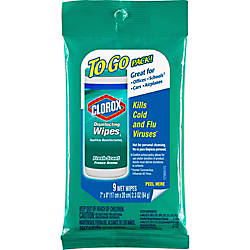 Clorox Disinfecting Wipes On The Go